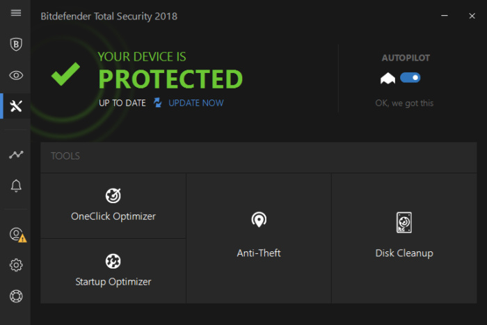 Phần mềm Bitdefender Internet Security