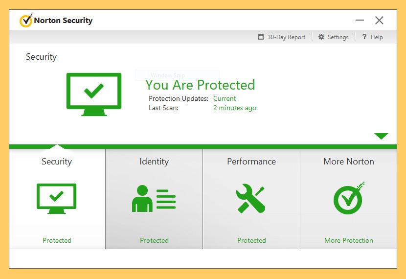 Phần mềm Norton Security