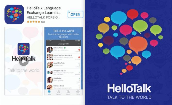 Hello talk ứng dụng học tiếng anh giao tiếp mọi lúc mọi nơi