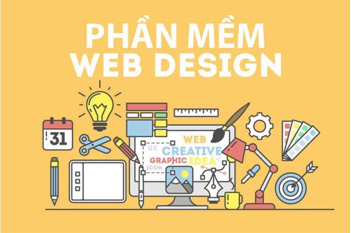 Các phần mềm thiết kế website