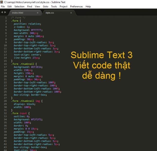 Subline Text