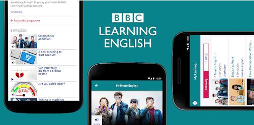 Ứng dụng học english tốt từ BBC