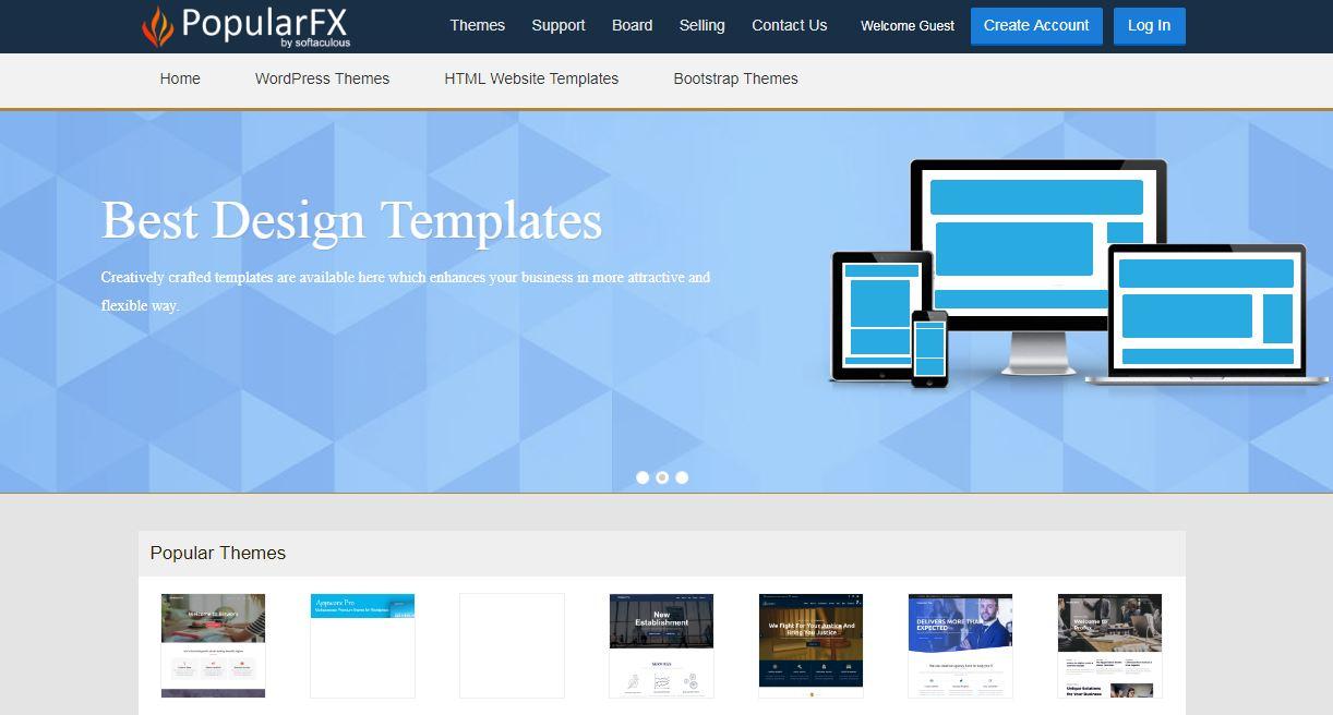 PopularFX.com là website bán theme đặc biệt