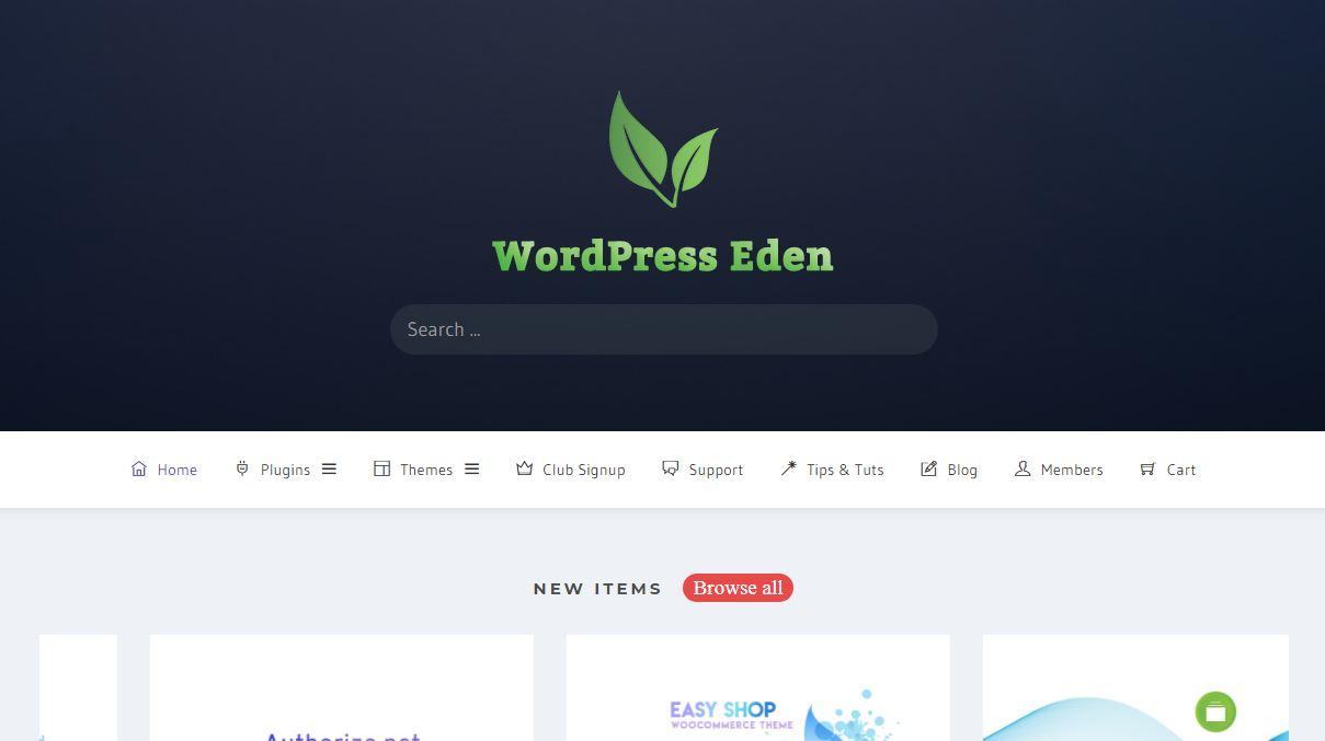 Wp Eden