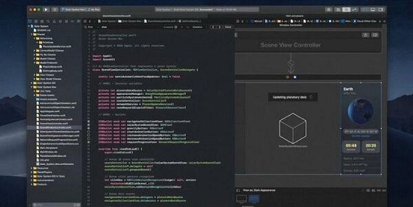 Xcode đây là phần mềm thuộc công ty Apple