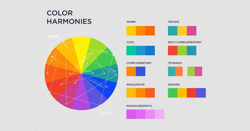 Màu sắc là yếu tố quan trọng khi chọn template cho web du lịch