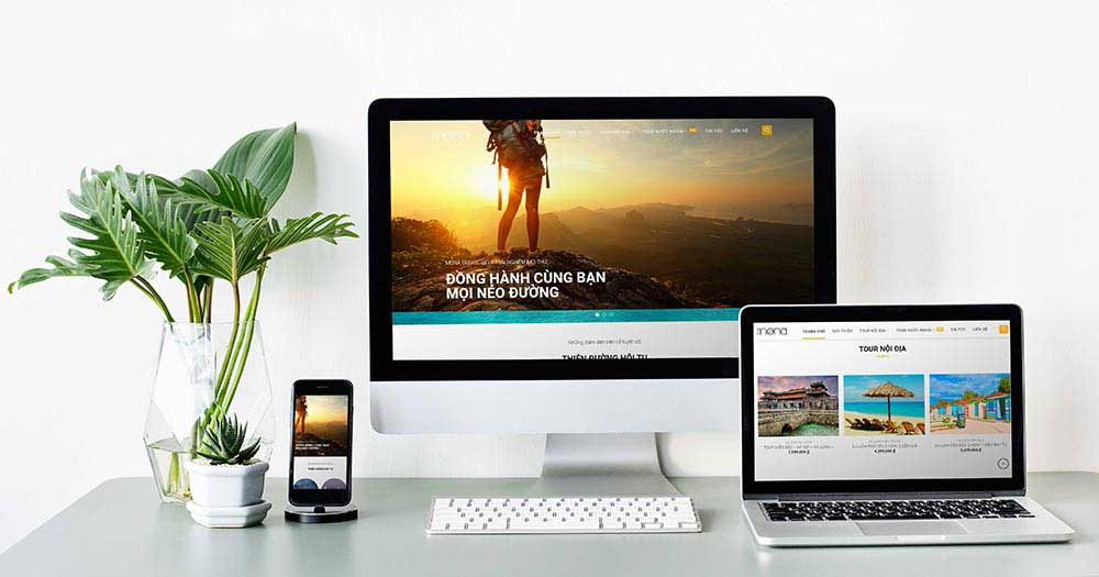 Template Web Du lịch Travel WP