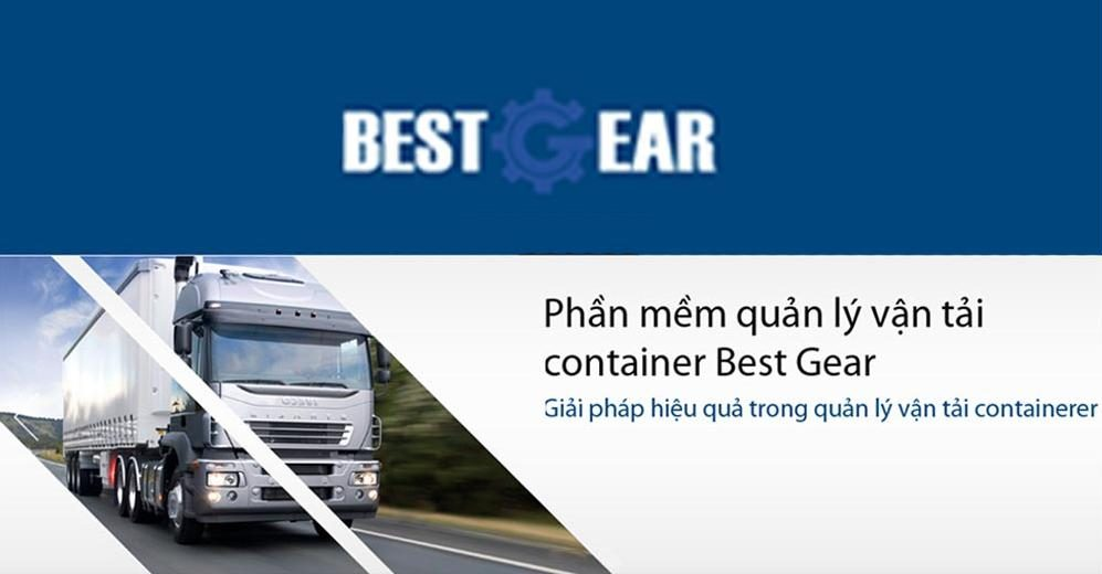 Phần mềm quản lý vận chuyển Container Best Gear