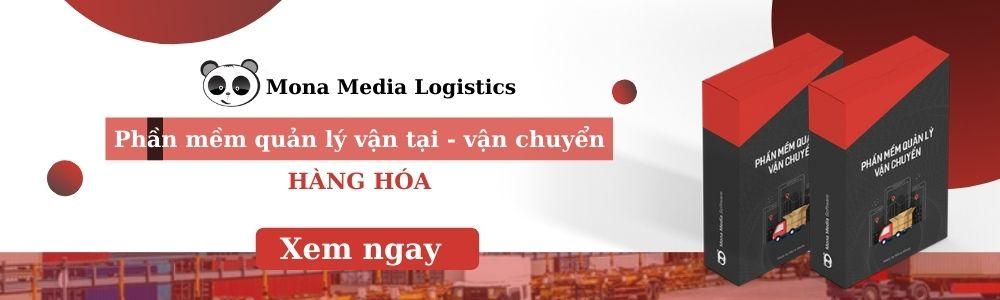 Phần mềm quản lý vận chuyền phổ biến Mona media logistics