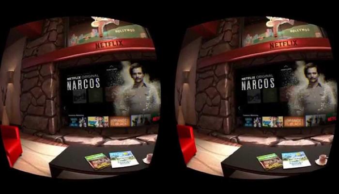 Netflix VR - Ứng dụng xem phim VR