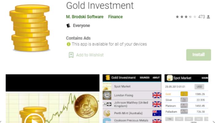 Gold Investment - app theo dõi giá vàng thế giới