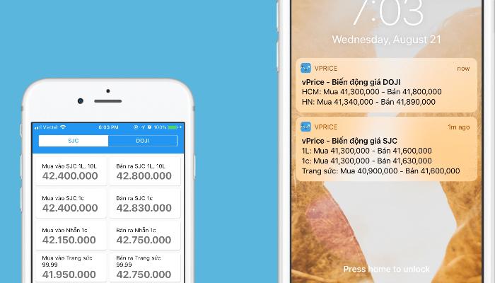Top 10 app theo dõi giá vàng phổ biến hàng đầu hiện nay