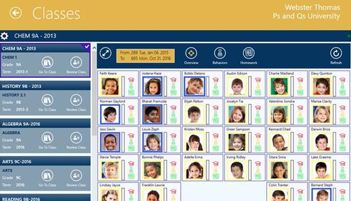 Phần mềm quản lý học sinh miễn phí - Class Act